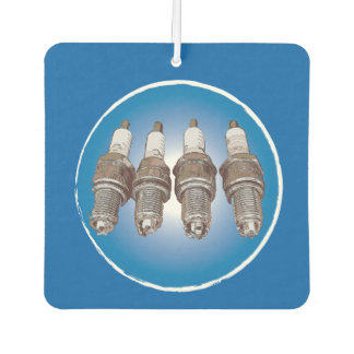 Spark plugs of the engine car air freshener
