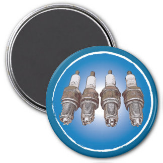 Spark plugs of the engine magnet