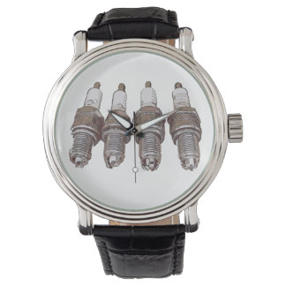 Spark plugs of the engine wrist watch