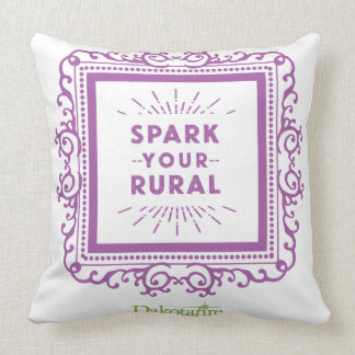 Spark Your Rural pillow