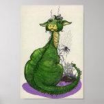 Sparkie el dragón impresiones