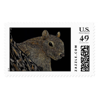 Sparkie the Squirrel Postage