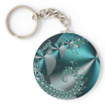Sparkle 2 Abstract Geometric Pattern Keychain