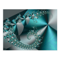 Sparkle 2 Abstract Geometric Pattern Postcards