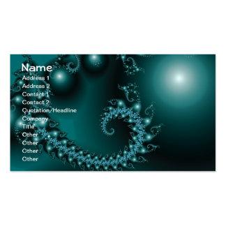 Sparkle 3 Abstract Fractal Fine Art Business Card