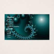 Sparkle 3 Abstract Fractal Fine Art Business Card