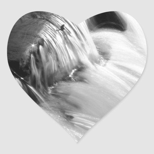 Sparkle and Flow Heart Sticker