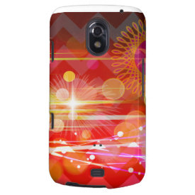 Sparkle and Shine Chevron Light Rays Abstract Galaxy Nexus Cover