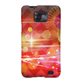 Sparkle and Shine Chevron Light Rays Abstract Galaxy SII Cover