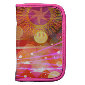 Sparkle and Shine Chevron Light Rays Abstract Folio Planner