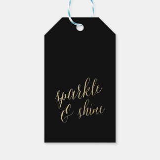 SPARKLE AND SHINE Gift Tags Pack Of Gift Tags