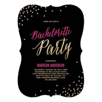Sparkle | Bachelorette Party Invitation