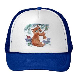 Sparkle Balls Attrack Louie Trucker Hat