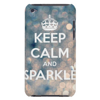 Sparkle Barely There iPod Case