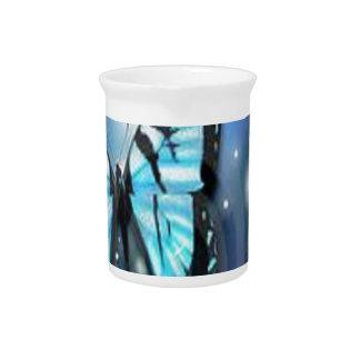 sparkle-butterfly drink pitcher