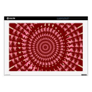 "Sparkle Chakra Round Circle Sun Gifts UNIQUE FUN 17"" Laptop Skin"