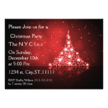 sparkle christmas tree Holiday party Invitation