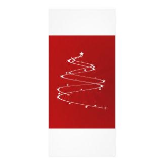 Sparkle Christmas Tree Customized Rack Card