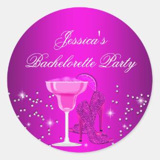 Sparkle Cocktail & Heels Bachelorette Sticker