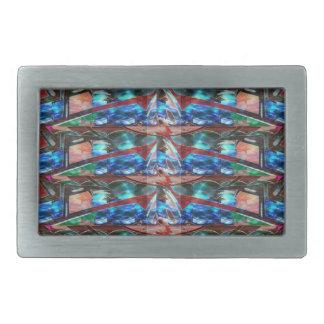 Sparkle Complex Jewels  Template ORIGINAL FUN ART Rectangular Belt Buckles