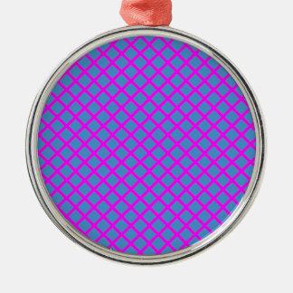 Sparkle Dark Blue Purple Cross Diamond Shape Gifts Christmas Tree Ornaments