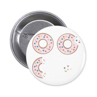 Sparkle Donuts Button
