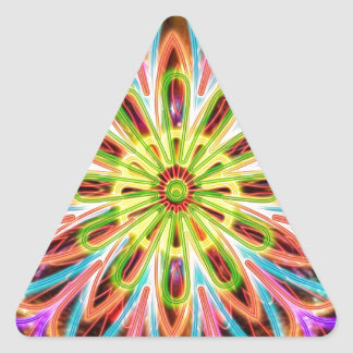 Sparkle Energy Star - Art from a Reiki Master Triangle Sticker