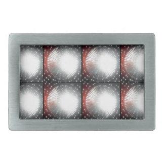 Sparkle FOCUS LIGHT - Pattern Rectangular Belt Buckles