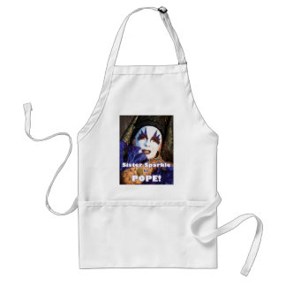 Sparkle for Pope Adult Apron