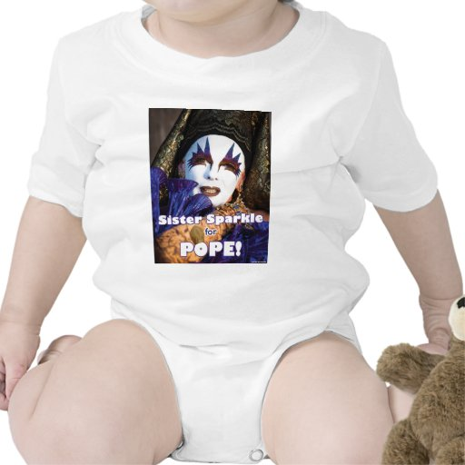 Sparkle for Pope Bodysuits