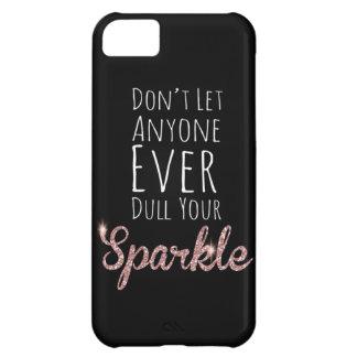 Sparkle* Funda Para iPhone 5C