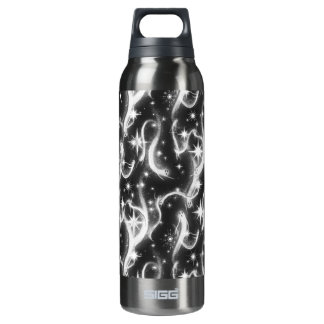 Sparkle Ghosts Liberty Bottle 16 Oz Insulated SIGG Thermos Water Bottle