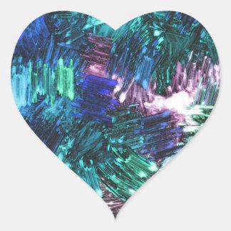 SPARKLE GLASS HEART STICKER