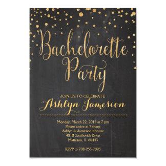Sparkle Glitter bachelorette Party Invitation