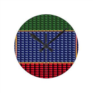 Sparkle Glitter Digital Blue Red Green Button GIFT Clocks