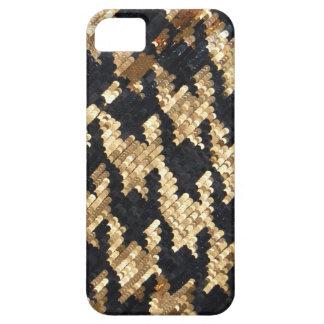 Sparkle Glitter Gold Bling iPhone SE/5/5s Case