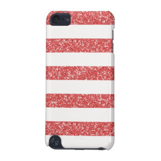 Sparkle Glitter Look Stripes iPod 5G BT Case iPod Touch (5th Generation) Cases