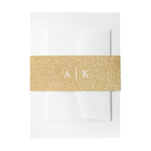 invitation belly bands zazzle
