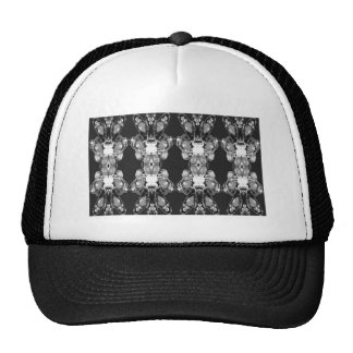 Sparkle Jewel Black n White Art BNW B&w gifts FUN Trucker Hat