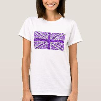 Sparkle Look UK Purple American t-shirt white