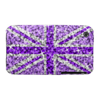 Sparkle Look UK Purple iPhone 3G/GS barely there iPhone 3 Cover