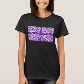 Sparkle Look UK Purple t-shirt black