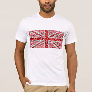 Sparkle Look UK Red american apparel white T-Shirt