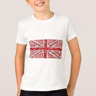 Sparkle Look UK Red kids ringer T-Shirt