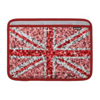 """Sparkle Look UK Red Macbook Air 11"""" sleeve MacBook Sleeve"""