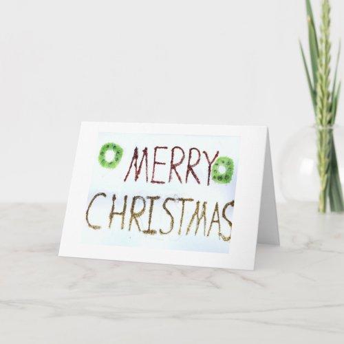Sparkle Merry Christmas card