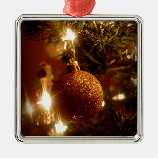 Sparkle Metal Ornament