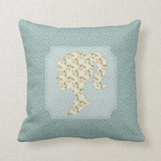 Sparkle Moroccan Design With Shabby Silhouette Pillows