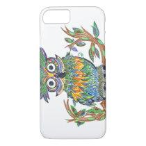 Sparkle Owl iPhone 7 Case