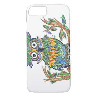 Sparkle Owl iPhone 7 Case